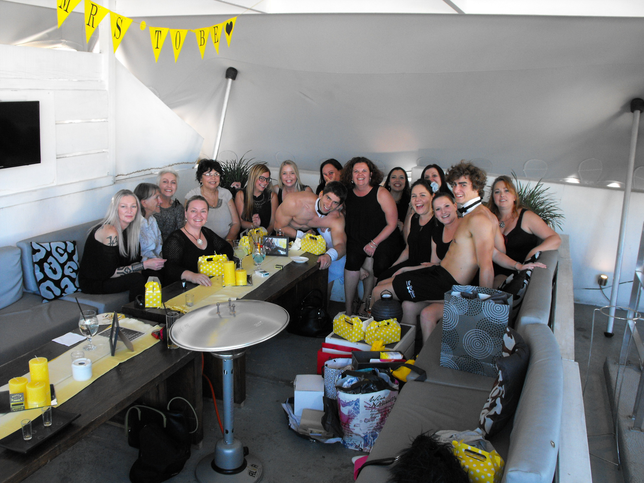 Party with the Famous Bare Butt Butlers!